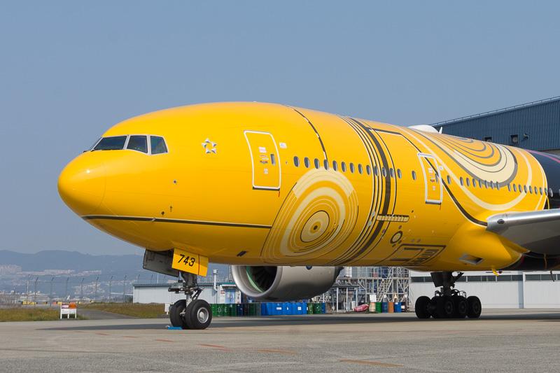 機体前部のデザイン