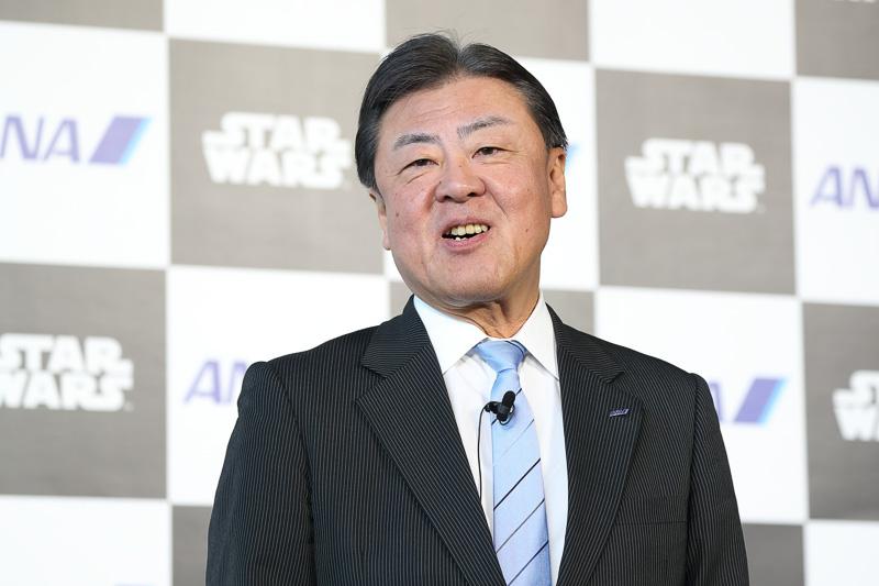 全日本空輸株式会社 取締役 常務執行役員の志岐隆史氏