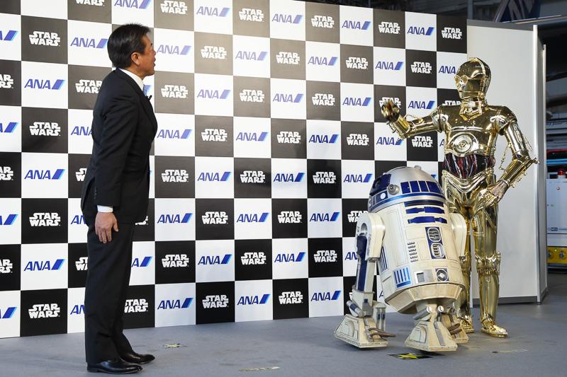 C-3POとR2-D2が登場