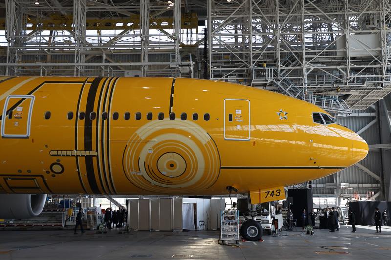 機体前方部の右側面