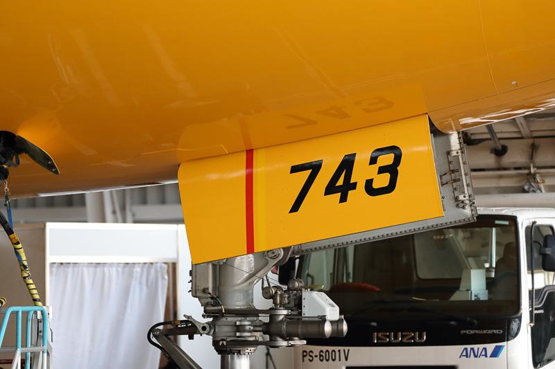 JA743Aの機体