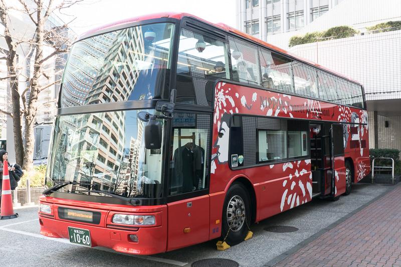 2階建てオープントップレストランバス2号車