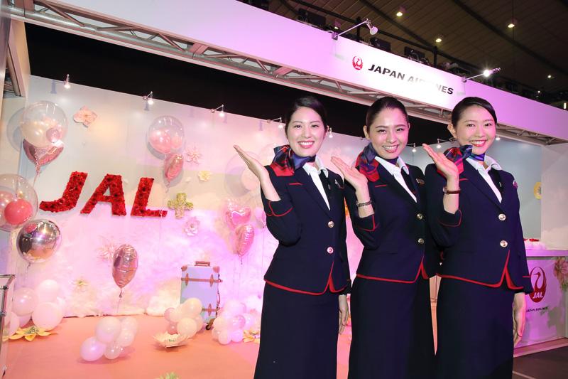 JALが「第24回 東京ガールズコレクション 2017 SPRING/SUMMER」にブースを初出展