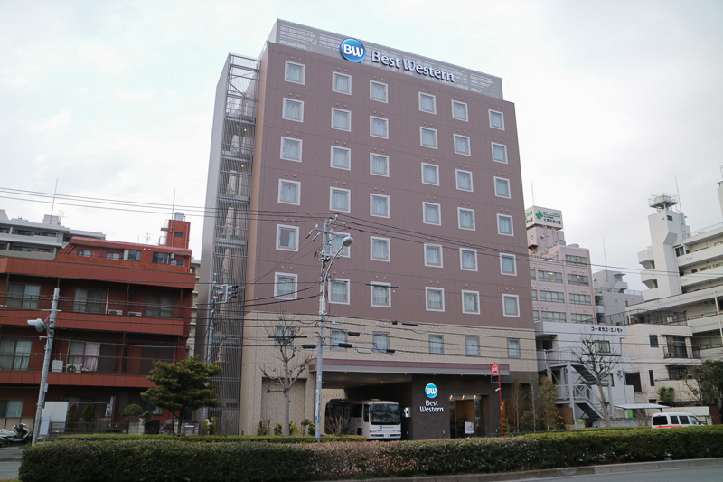 「ベストウェスタン東京西葛西グランデ」が4月1日にオープンする。建物は清砂大橋通りに面している