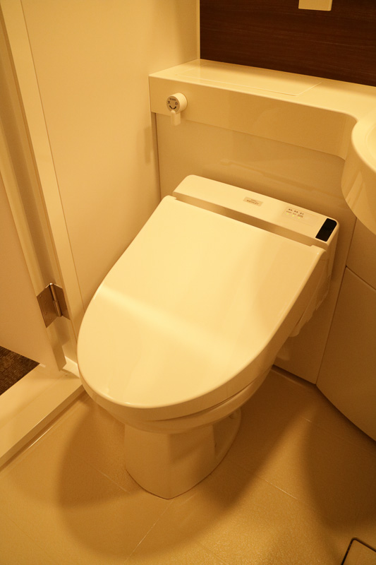 「スーペリア」と名前に付くものはトイレとバスが一緒のユニットタイプ