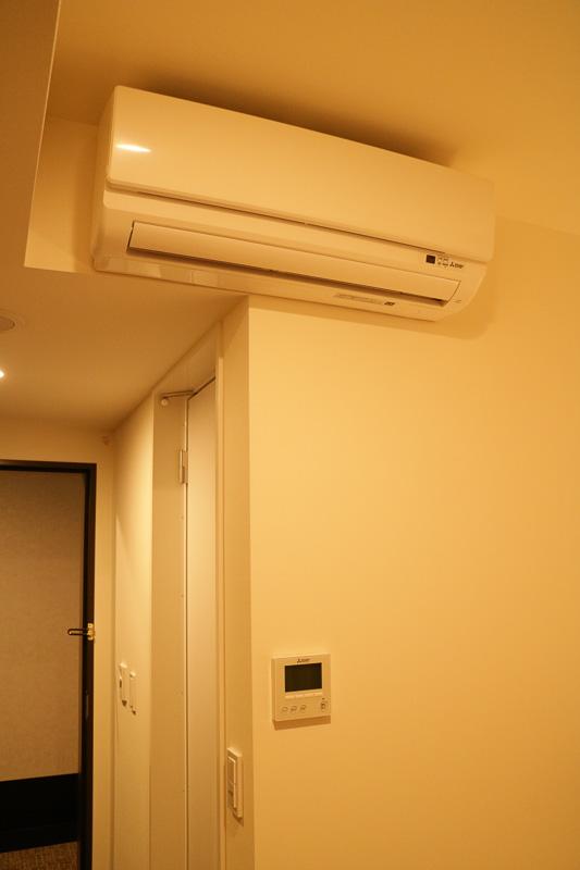 客室ごとにエアコンが備え付けられているので、自分好みに温度を調整できる