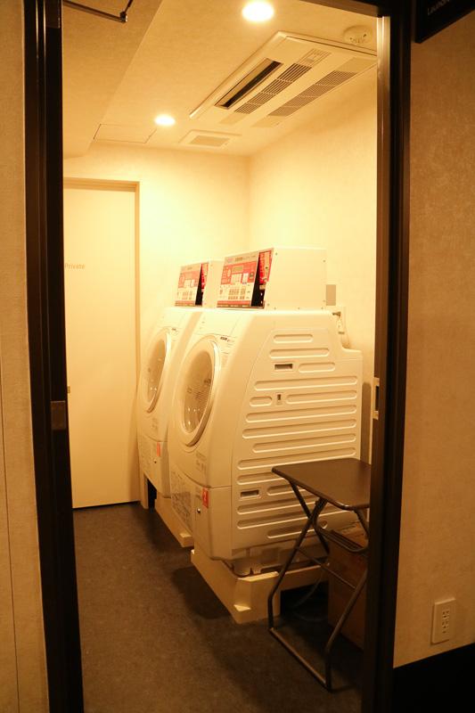 2階には洗濯乾燥機が2台用意されている