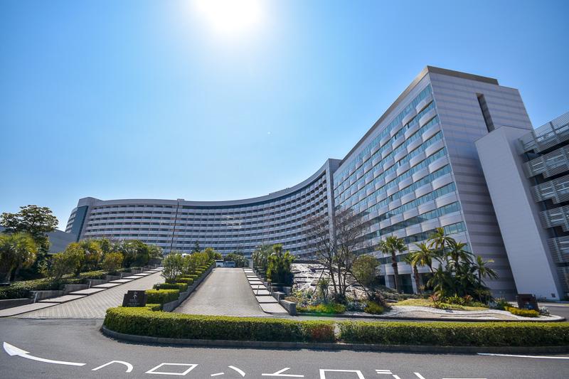 客室数は1000室を超える東京ディズニーリゾートの「シェラトン・グランデ・トーキョーベイ・ホテル」
