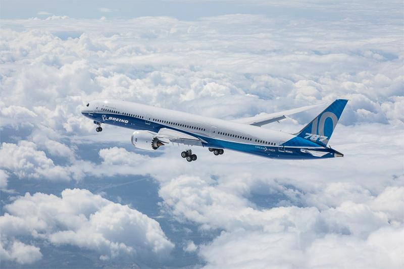 ボーイング 787-10型機(ドリームライナー)