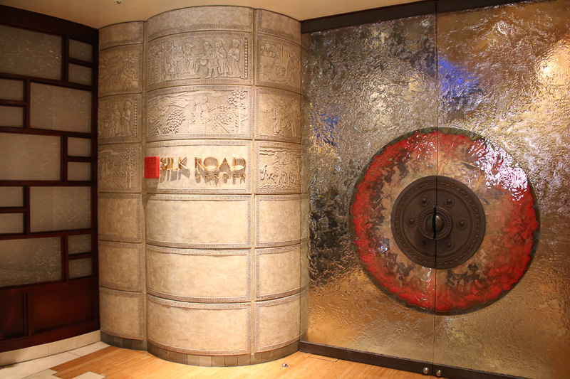 ホテルミラコスタの「シルクロードガーデン」は個室もある高級中華料理店