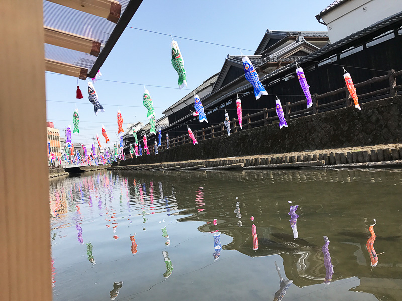 巴波川が水運で栄えた江戸時代頃に廻船問屋として名を馳せた豪商塚田家の土蔵