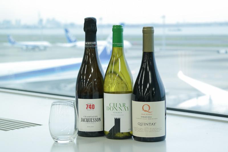 セミナーで使用された、2017年6月から提供予定のワイン