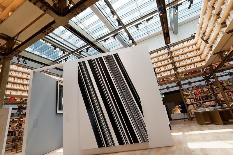ここにも多数のアート作品が展示