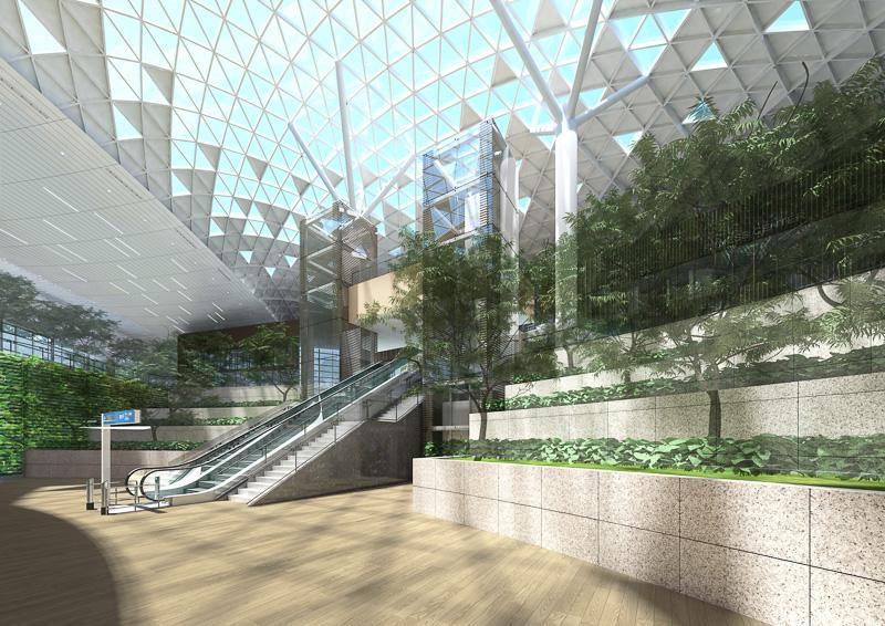 第2ターミナルの完成イメージ(写真提供:仁川国際空港)