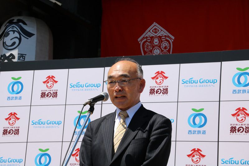西武リクリエーション株式会社 代表取締役社長 布留川信行氏