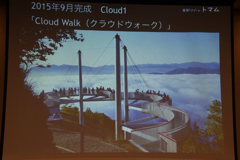 Cloud 1。こちらはすでに完成済み