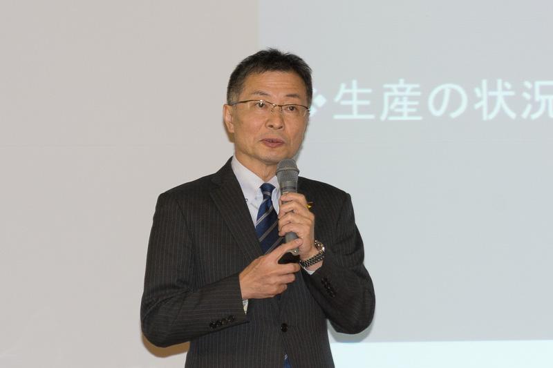三菱航空機株式会社 副社長 執行役員 岸信夫氏