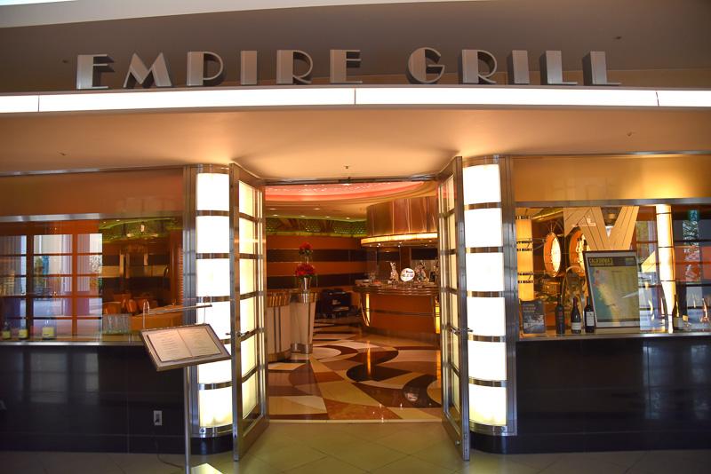 カリフォルニア料理レストラン「エンパイア・グリル」
