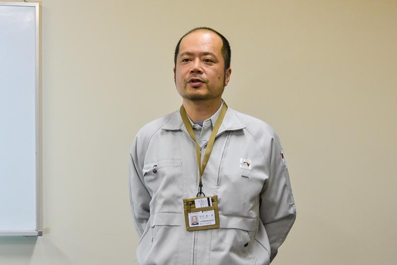 経緯を説明する中日本高速道路株式会社 名古屋支社 保全・サービス事業部 交通技術チーム チームリーダーの田中真一郎氏