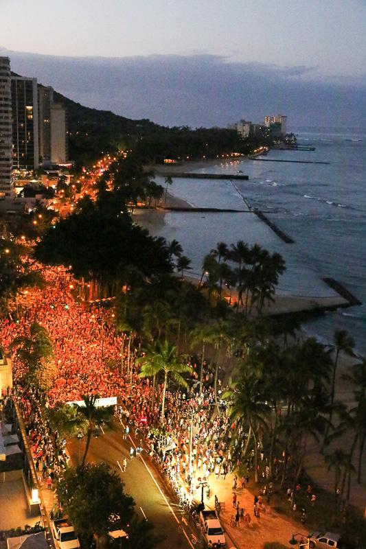 (写真提供:ホノルルマラソン協会、Photo by Tom Pennington/Getty Images for The Hapalua - Hawaii's Half Marathon)