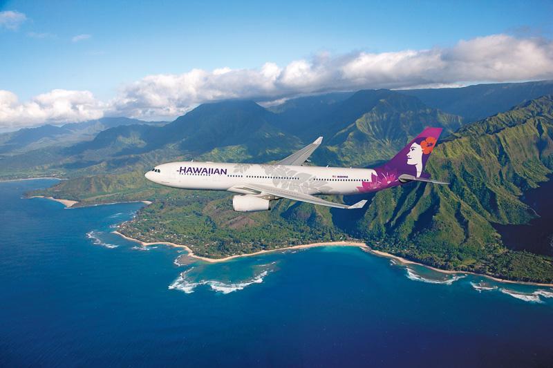 ハワイアン航空は新しいブランドロゴと機体デザインを発表した