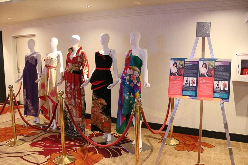 「沖縄クルーズ」では香港でブランドを展開する鶴田奈央子氏のファッションショーも開催された