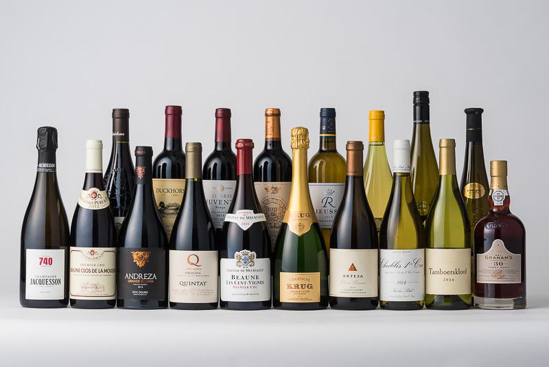 6月からANA国際線のファーストクラスで提供されるワイン