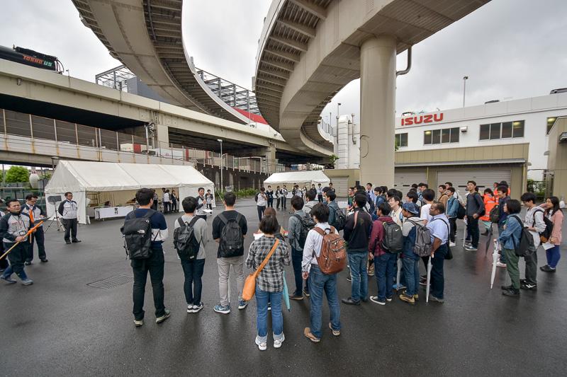 首都圏の土木工学等専攻の9大学から44人の学生が参加した