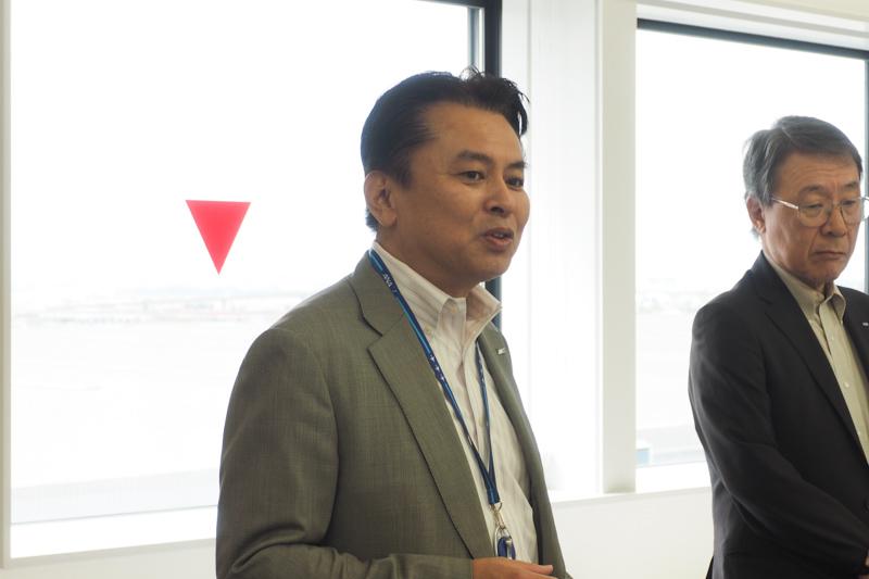 全日本空輸株式会社 CS&プロダクト・サービス室商品戦略部長の原雄三氏