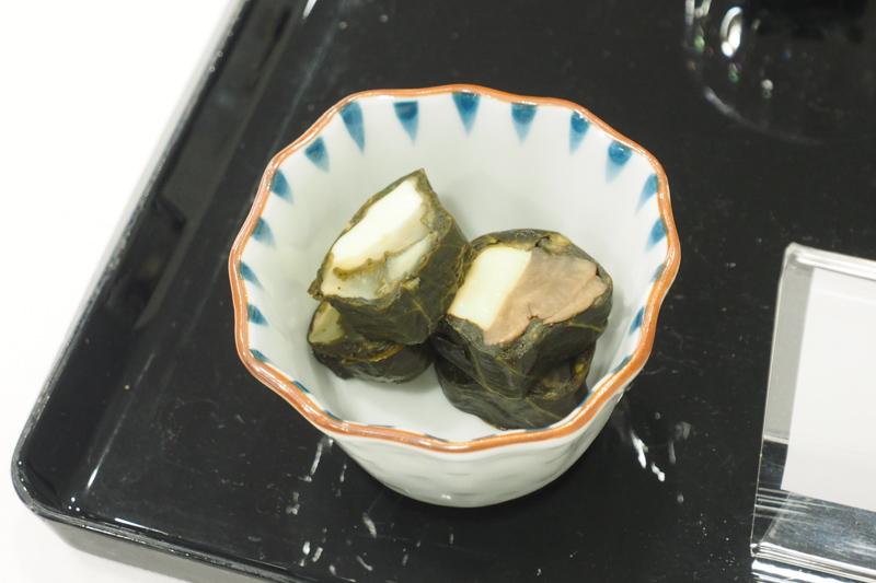 まつのゆきとチーズ粽菜