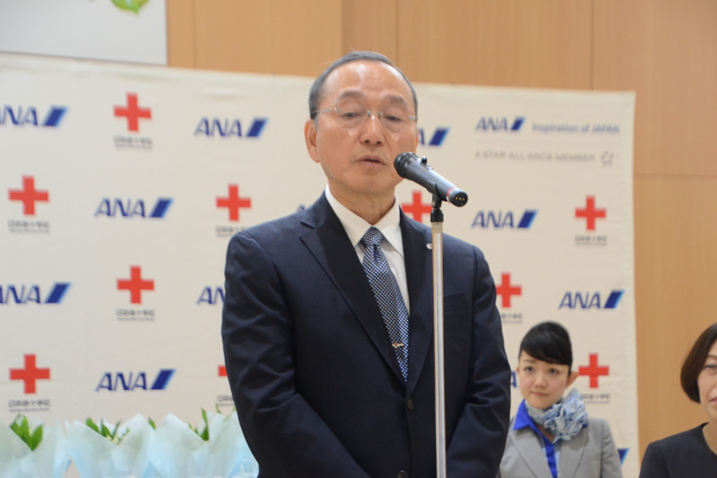 日本赤十字社 医療事業推進本部長の富田博樹氏