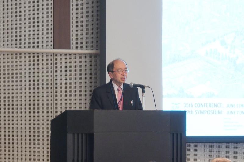 ICAF2017 委員長  武田展雄氏