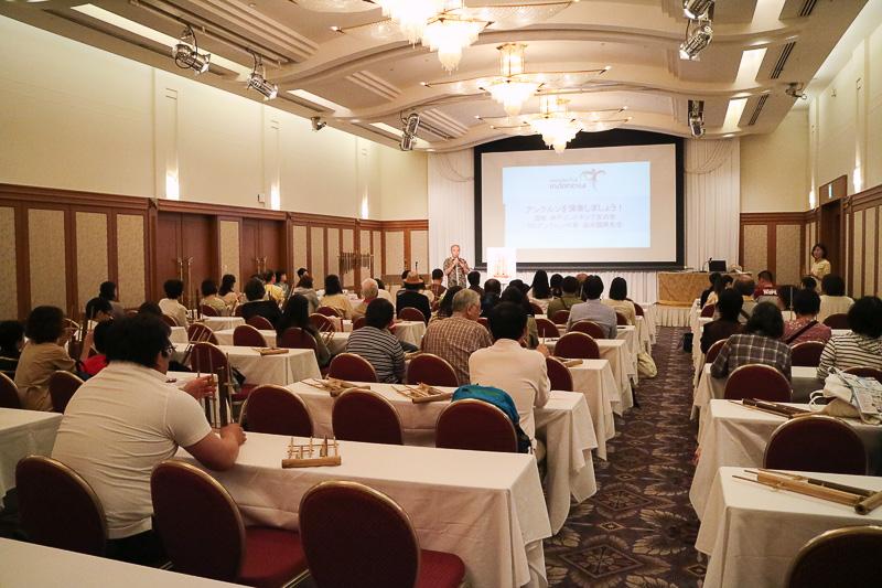 インドネシア共和国観光省と在大阪インドネシア共和国総領事館は「インドネシアの2017年注目イベントと伝統楽器の演奏体験」と題してセミナーを実施した