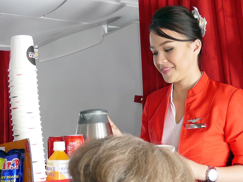 機内食の販売がスタート