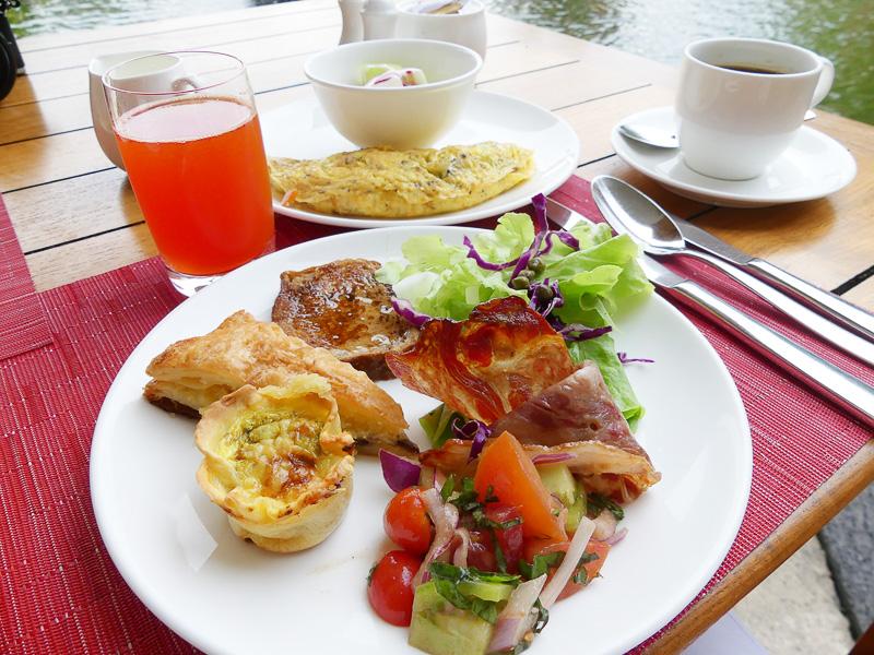 ある日の朝食@レストランSUKU