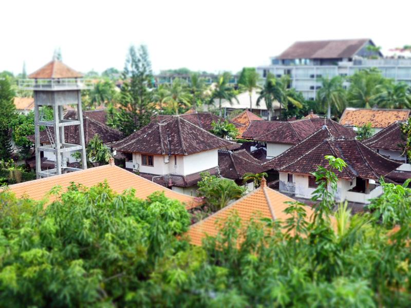 上部階から見える眺望がいかにもバリ島! で素敵でした