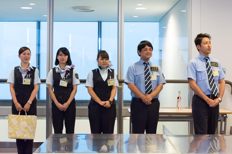 第2ターミナルの保安検査を担う株式会社ジェイ・エス・エス