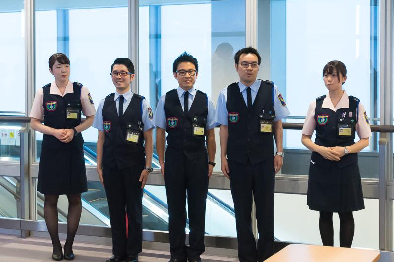 第3ターミナルの保安検査を担う株式会社セノン