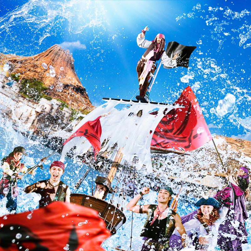 東京ディズニーシーでは「ディズニー・パイレーツ・サマー」を7月11日から8月31日まで開催する