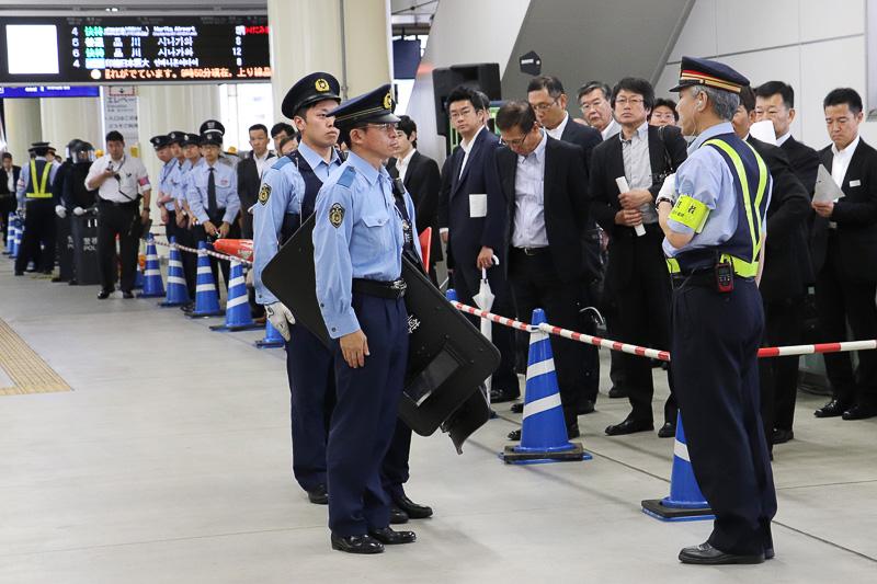 警察が到着