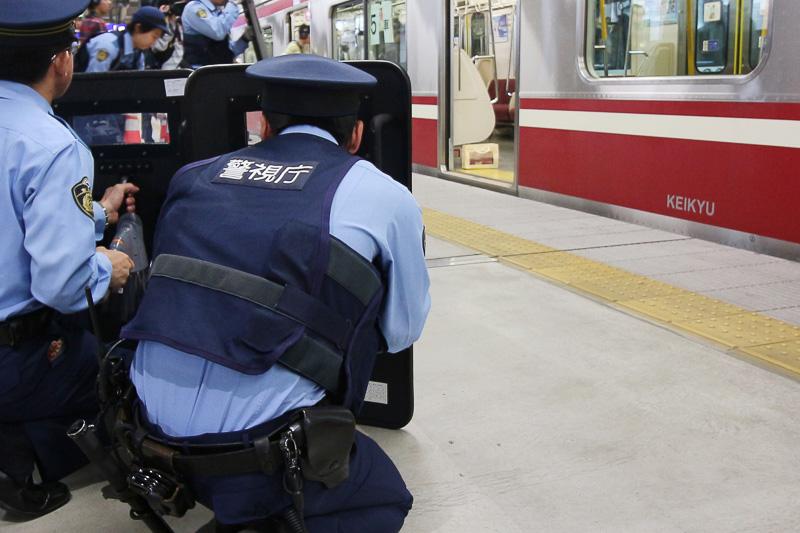 警察が初期対応を開始