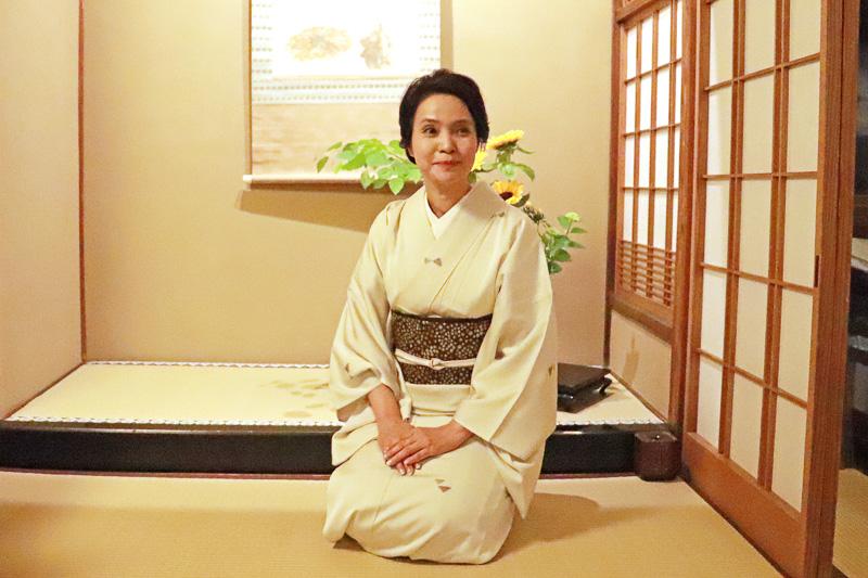 「八坂圓堂」の女将 遠藤恵さん