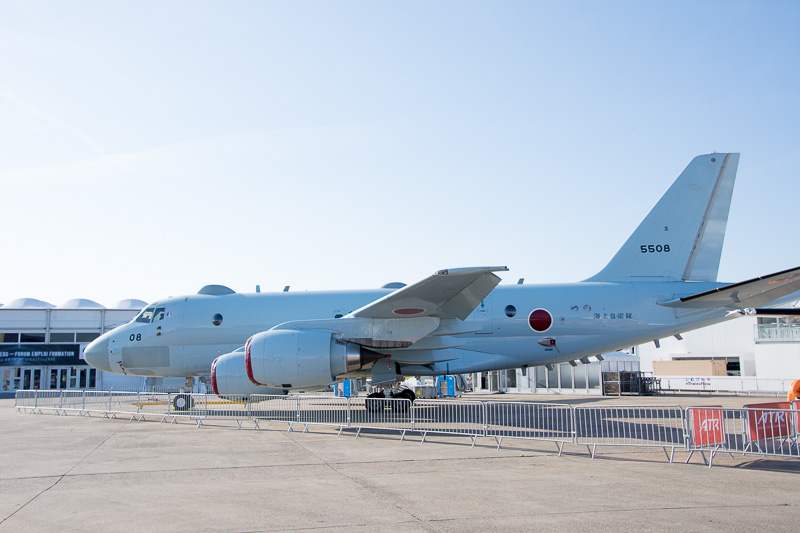 川崎重工業が製造するP-1