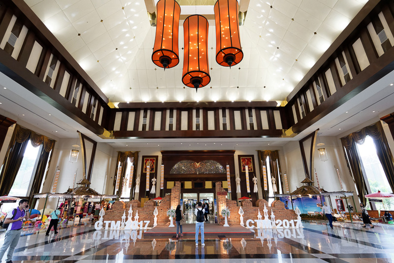 旅行業界向けの商談会「Thailand Travel Mart Plus 2017」の会場となったチェンマイ インターナショナルコンベンションセンター