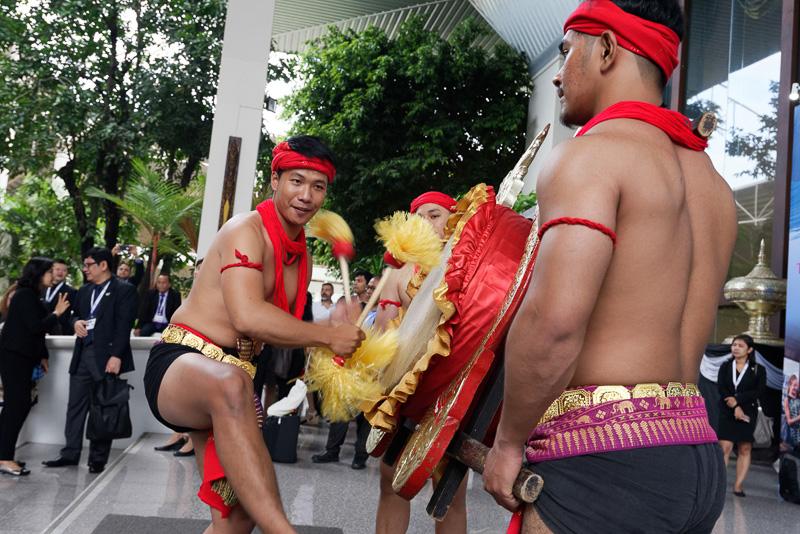 タイ北部の伝統舞踊の数々が目白押しのイベントとなった