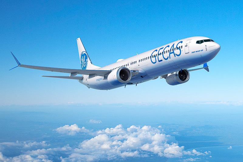 GE子会社のリース会社GECAS(GE Capital Aviation Services)は10機を注文