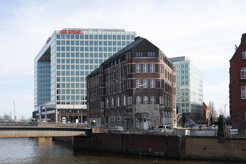 すぐ近くにある「Der Spiegel」というドイツの週刊誌を発行する出版社