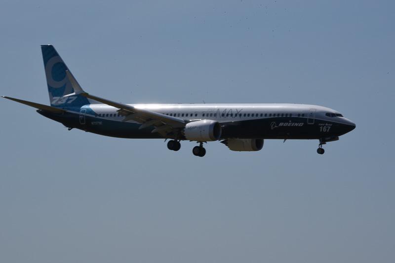 デモフライトを終え、無事着陸。乗客が乗っていないこともあるが、軽やかに飛んでいた