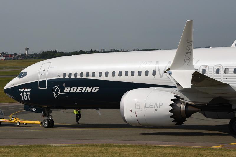 ボーイング 737 MAXシリーズのウリでもあるLEAP-1Bエンジン。787シリーズと同様にシェブロンノズルを備える