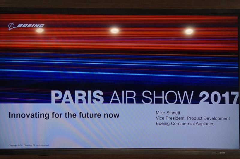 講演のタイトルは「Innovating for the future now」(未来に向けての革新的な取り組みの今)
